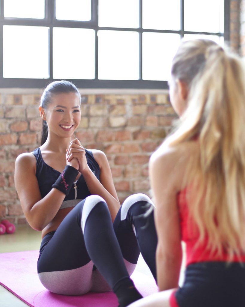 Fitness mit Vivien Mrkwitschka